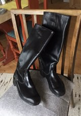 Original eastern Germany military/police boots, NEW, size 8.5 for collector, or ready to use as ... in Grafenwoehr, GE