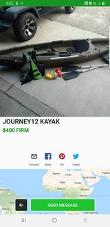 journey 12 Kayak in Fort Leonard Wood, Missouri