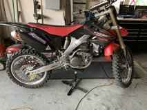 2007 Honda crf 250r in Travis AFB, California