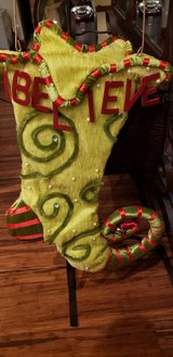 Christmas Whimsical Stocking in Travis AFB, California