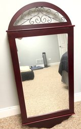 Wall Mounted Mirrored Jewelry Cabinet in Orland Park, Illinois