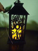 """new 11"""" lantern w/flickering candle in Glendale Heights, Illinois"""