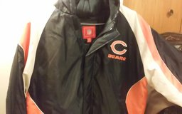 LARGE NFL BEARS COAT in Orland Park, Illinois