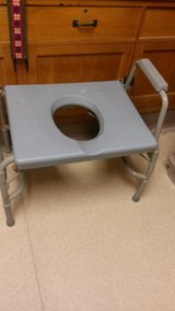 Bariatric beside commode. in Plainfield, Illinois