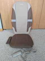 Homedics Dual Shiatsu Massage Cushion with Heat -Like New in Joliet, Illinois