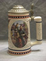 Heroes of the Civil War beer stein in Naperville, Illinois