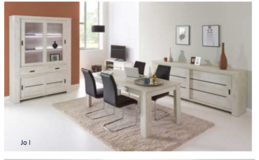 """United Furniture - Dining Set """"Gabriel"""" - China - Table 160 - 4 Chairs - incl. delivery.. in Heidelberg, GE"""