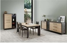United Furniture - Milo Dining set - China - Table - Chairs - Delivery in Stuttgart, GE