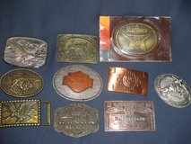 Belt Buckles - Choice of 10 in Glendale Heights, Illinois