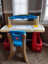 Step 2 Deluxe Art Desk with Chair in Yorkville, Illinois