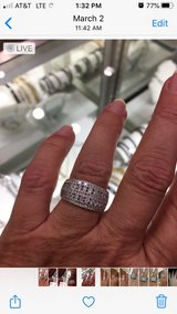 White Gold Ring in Conroe, Texas
