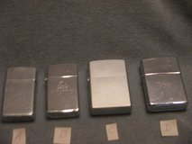 Zippo Lighter Collection - Choice of 4 in Glendale Heights, Illinois