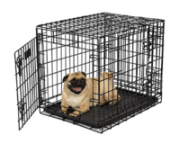 Ultima Pro Double Door Folding Dog Crate Model 724UP - Small in Plainfield, Illinois