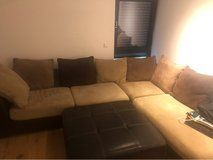 Couch w/ ottoman in Misawa AB, Japan