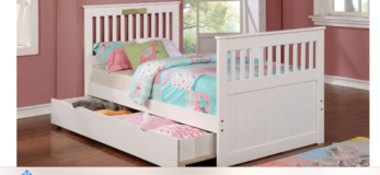INVENTORY SALE! TWIN CAPTAIN BED WITH TRUNDLE STORAGE W/MATTRESS in Camp Pendleton, California