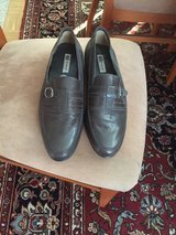 Mens New Grey Leather shoes in Stuttgart, GE