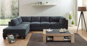 United Furniture - Household Pkg 1B - Sectional + Dining + Entertainment + Coffee Table + Delivery in Spangdahlem, Germany