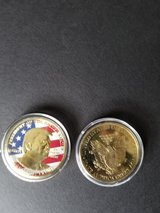 trump coin in Travis AFB, California