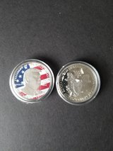 collectible Trump coin in Travis AFB, California