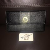 Like New! Etienne Aigner Trifold Leather Wallet in Chicago, Illinois