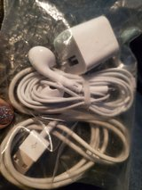 iPhone charger and earbuds in Travis AFB, California