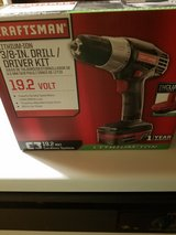 """New Craftsman 3/8"""" Drill/driver kit in Chicago, Illinois"""