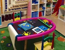 Alex Artist Studio Super Art Table with Two Benches. in Okinawa, Japan