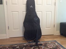 Cello case with stand in Elizabethtown, Kentucky
