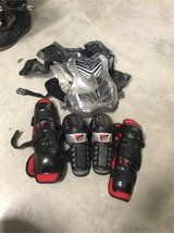 Chest protector with knee and elbow pads in Travis AFB, California