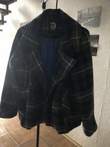 XL Plaid Peacoat in Ramstein, Germany