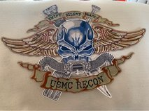 Large Force Recon Patch in Okinawa, Japan