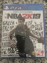 NBA 2K19 for PlayStation 4 in Fort Benning, Georgia