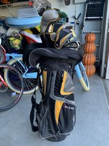 RAM let handed golf set in Travis AFB, California