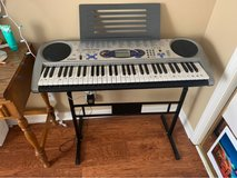 Casio Light Up Keyboard with Stand in Fort Campbell, Kentucky