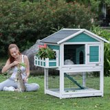 Petsfit 42.5 x 30 x 46 inches Bunny Cages,Outdoor Rabbit Hutch in Plainfield, Illinois