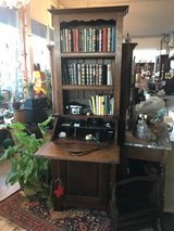 antique secretary desk with shelves in Ramstein, Germany