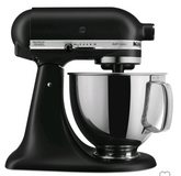 NEW kitchenaid artisan mixer matte black in Naperville, Illinois