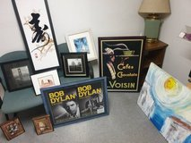 Art frames (posters, prints and painting, many custom made and mounted) in Stuttgart, GE
