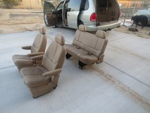 Leather Van Seats in Yucca Valley, California