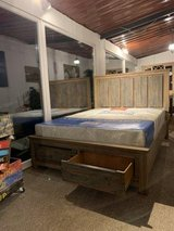 United Furniture - New Item - Kipling QS Bed Set - Solid Wood (Acacia) includes del. - KS also.. in Wiesbaden, GE