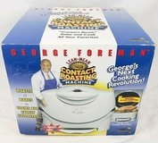 NEW George Foreman Contact Roasting Machine GV5 Roaster Cooker Mini Oven in Morris, Illinois
