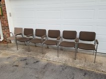 6 METAL CHAIRS in Fort Campbell, Kentucky