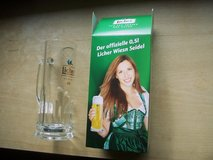 Clear Glass Bier Stein, Licher in Stuttgart, GE