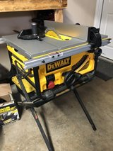 """Dewalt Portable Table Saw 10"""" blade in Fort Campbell, Kentucky"""