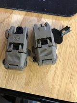 Magpul MBUS front and rear flip up sights in Fort Campbell, Kentucky