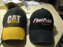 Cat hat and Fleetpride hat in Alamogordo, New Mexico
