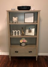 Restoration Hardware Nursery Furniture (baby bed, dresser, book shelf) in Fort Campbell, Kentucky