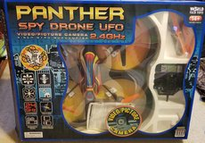 World Tech Toys Panther SPY Drone UFO Video Camera 2.4GHz RC Quadcopter in Kingwood, Texas