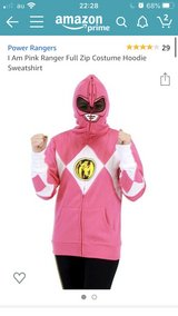 Pink power ranger Hoodie L in Okinawa, Japan