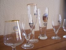 6 German Beer Glasses in Stuttgart, GE